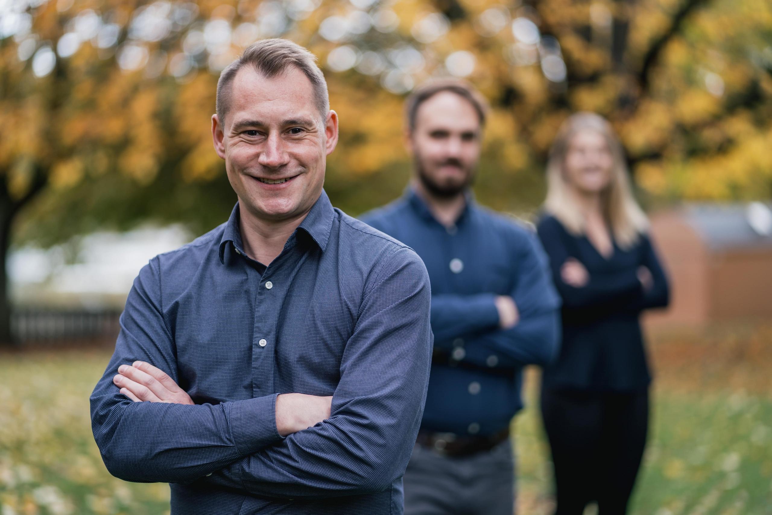 Guido Herklotz und Team