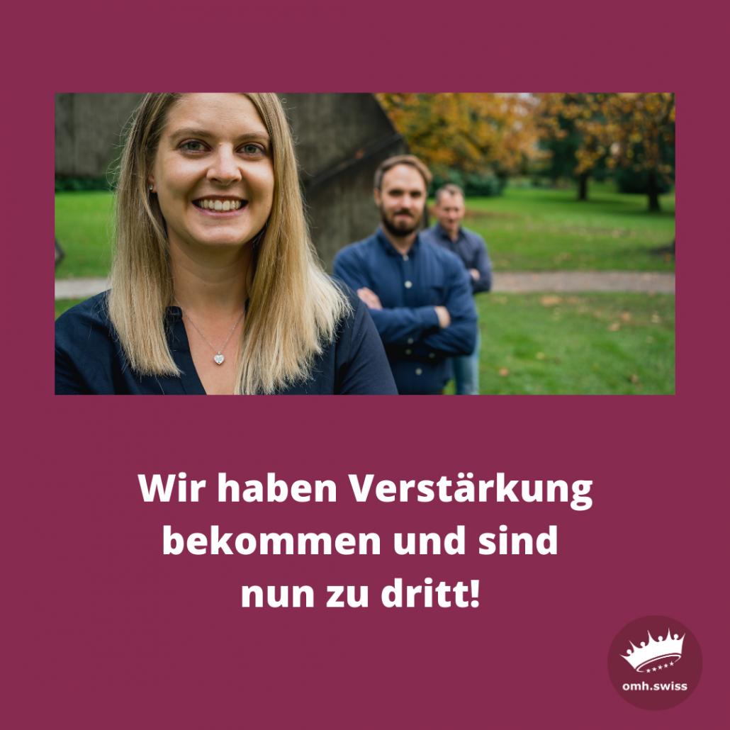 Andrea Anliker, Guido Herklotz und Marco Aures