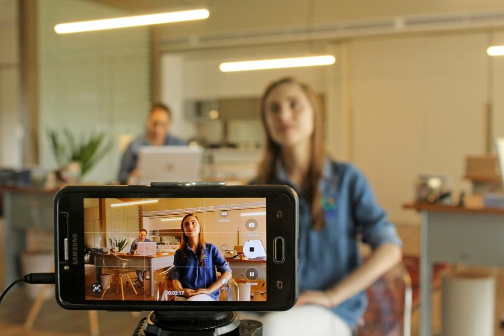 Video-Interview mit dem Smartphone