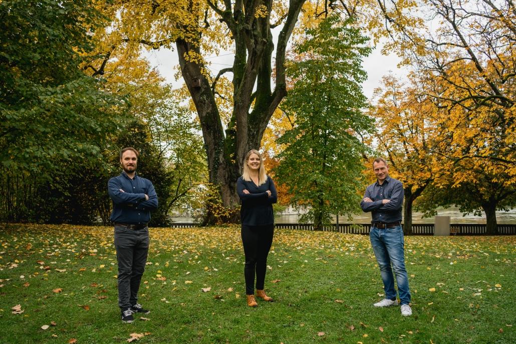 OMH Team Andrea Anliker, marco Aures und Guido Herklotz