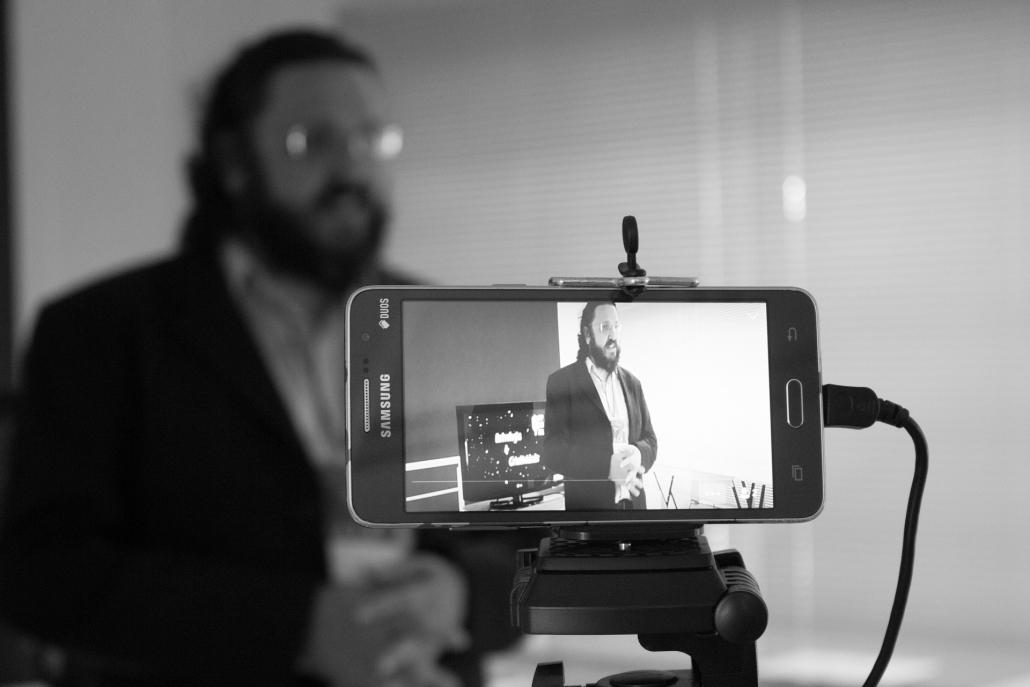 Smartphone Videoaufnahme
